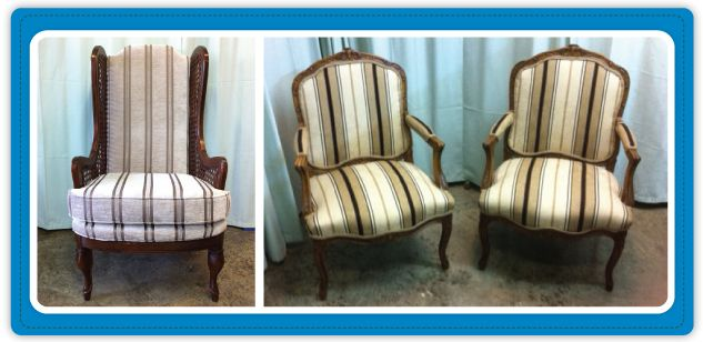 Custom upholstering | Chairs